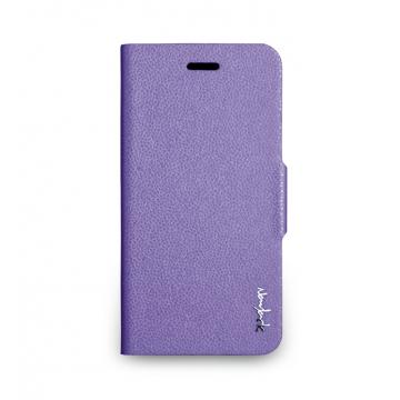 iPhone 6 -柔光側掀站立式保護套- 丁香紫