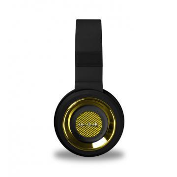 Navjack - The QBM Series - 摺疊頭戴式耳機(線控) - 閃耀金