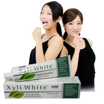 《NOW健而婷》木糖醇潔白素食牙膏 (181公克/條)