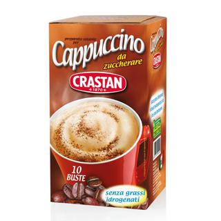 【Crastan可洛詩丹】無糖卡布奇諾咖啡隨身包(10入X1盒)