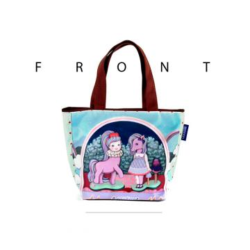 COPLAY X Only Two 女孩與小馬兒 小托特包 - 防潑水設計 手提包