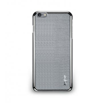 iPhone 6 Plus- 玻纖保護背蓋- 星河銀