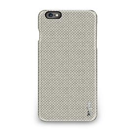 iPhone 6 Plus - 編織紋保護背蓋 - 卡其灰