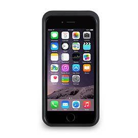 iPhone 6 - 撞色可立式保護框 - 碳黑色