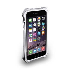 iPhone 6-X-Trim Serie-流線型可立式保護框 - 星河銀