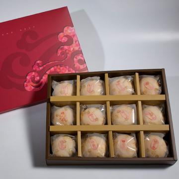 漢坊【金饌】綠豆椪12入禮盒