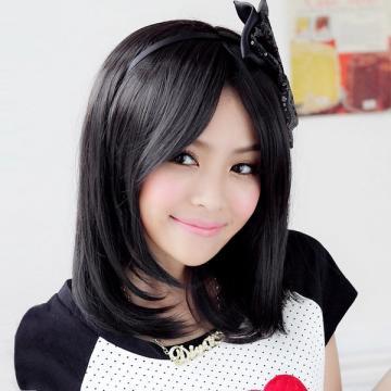【A013】都會女子俏麗氣質短直髮