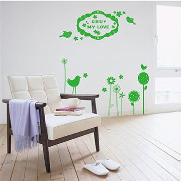 【Smart Design】創意無痕壁貼◆花卉花香