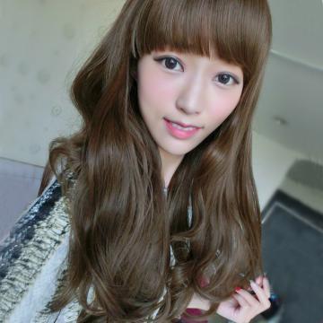 【MA019】甜心女孩娃娃頭唯美自然灣捲度中長捲髮