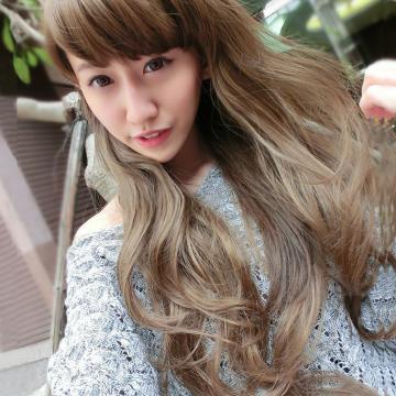 【MA024】自然飄逸輕甜女孩浪漫微捲長髮