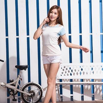 【Frecci】 腋下消臭衣 (女假兩件T恤) (款式出清大降價)