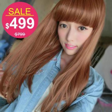 【KD619】蜜糖甜心娃娃頭中長直髮