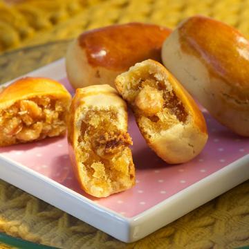 漢坊【御點】鳳梨核桃8入禮盒(蛋奶素)