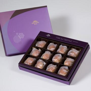 漢坊【臻饌】綜合12入禮盒★鳳梨核桃+焦糖栗子*6(蛋奶素)