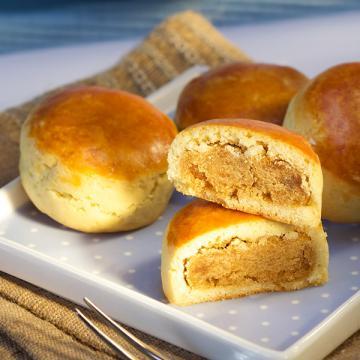 漢坊【御點】焦糖栗子8入禮盒(蛋奶素)焦糖栗子