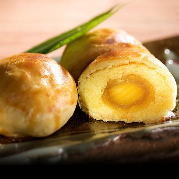 漢坊【御點】蛋黃酥8入禮盒(蛋奶素)