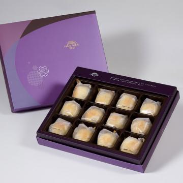 漢坊【臻饌】漢坊金沙小月12入禮盒(蛋奶素)