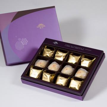 漢坊【臻饌】綜合12入禮盒★鳳梨酥*8+綠豆小月餅*4