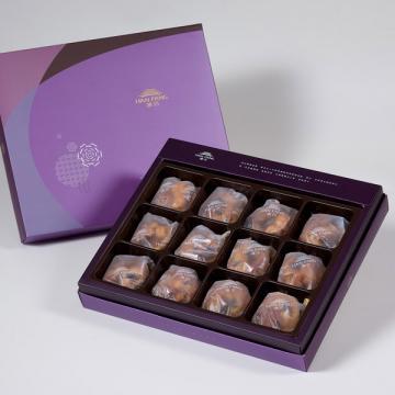 漢坊【臻饌】什錦堅果塔12入禮盒(蛋奶素)