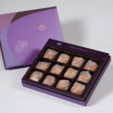漢坊【臻饌】夏威夷豆堅果塔12入禮盒(蛋奶素)