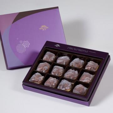 漢坊【臻饌】咖啡胡桃堅果塔12入禮盒(蛋奶素)