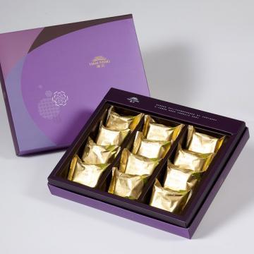 漢坊【臻饌】土鳳梨酥12入禮盒(蛋奶素)