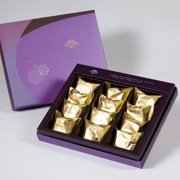 漢坊【臻饌】鳳梨酥12入禮盒(蛋奶素)
