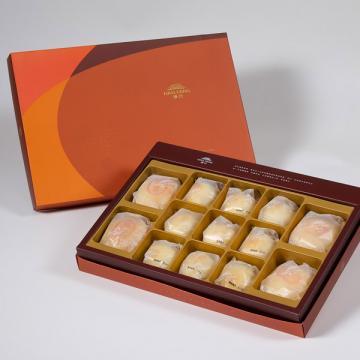 漢坊【御藏】綜合13入禮盒★綠豆椪*2+純綠豆椪*2+漢坊金沙小月*9
