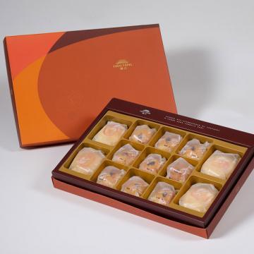 漢坊【御藏】綜合13入禮盒★綠豆椪*2+純綠豆椪*2+金韻蛋黃酥*9