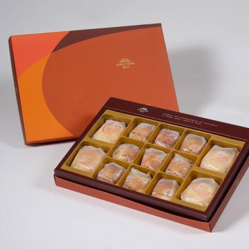 漢坊【御藏】綜合13入禮盒★綠豆椪*2+純綠豆椪*2+蛋黃酥*9