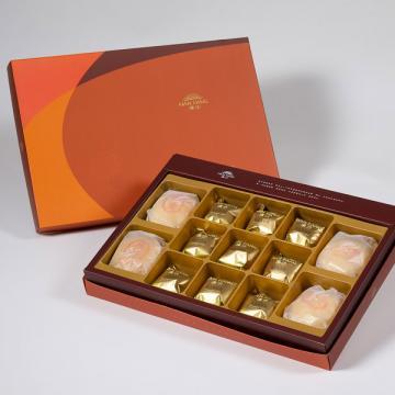 漢坊【御藏】綜合13入禮盒★綠豆椪*2+純綠豆椪*2+鳳梨酥*9