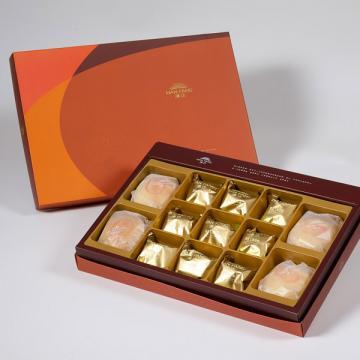 漢坊【御藏】綜合13入禮盒★綠豆椪*2+純綠豆椪*2+土鳳梨酥*9