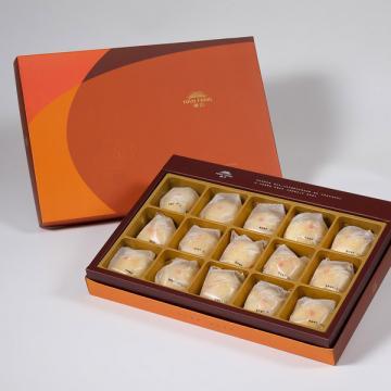 漢坊【御藏】綠豆小月餅15入禮盒(蛋奶素)