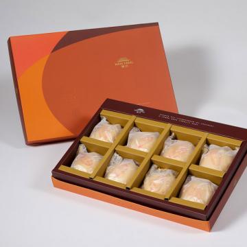漢坊【御藏】純綠豆椪8入禮盒(蛋奶素)