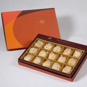 漢坊【御藏】漢坊金沙小月15入禮盒(蛋奶素)