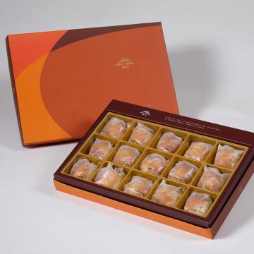 漢坊【御藏】蛋黃酥15入禮盒(蛋奶素)