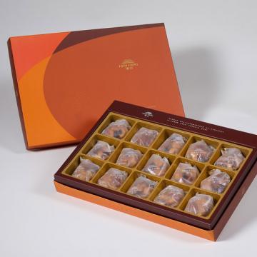 漢坊【御藏】什錦堅果塔15入禮盒(蛋奶素)