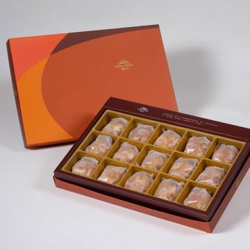 漢坊【御藏】夏威夷豆堅果塔15入禮盒(蛋奶素)