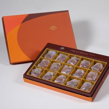 漢坊【御藏】咖啡胡桃堅果塔15入禮盒(蛋奶素)