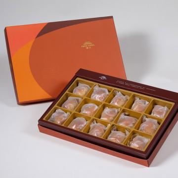漢坊【御藏】綜合15入禮盒★伯爵抹茶*5+黃金干貝XO醬*5+焦糖栗子*5