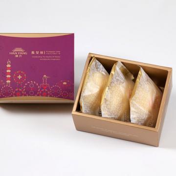漢坊【典藏】綠豆椪3入禮盒(蛋奶素)