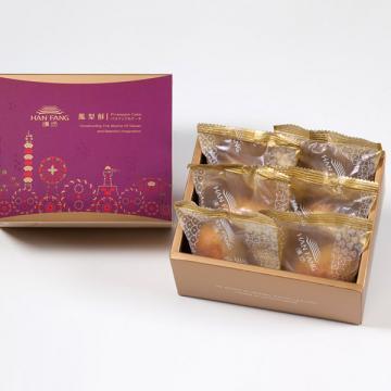 漢坊【典藏】伯爵抹茶6入禮盒(蛋奶素)