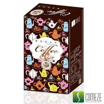 COMEZE康澤 一泡三享-膠原鈣咖啡