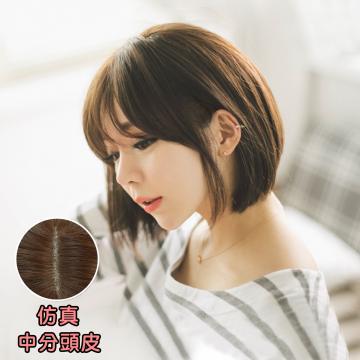 【MB209】韓系 空氣瀏海清新俏麗短髮(仿真大頭皮)