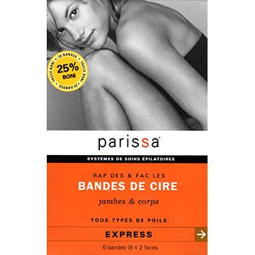 沛蕾莎【Parissa】極緻光滑除毛貼片-大 (10對/盒)