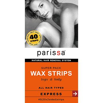 沛蕾莎【Parissa】極緻光滑除毛貼片(增量版)-大 (20對/盒)