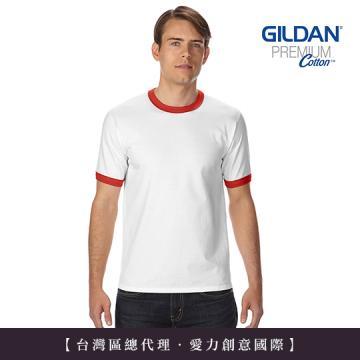GILDAN 總代理-100%美國棉~ 亞規滾邊中性T恤(1件)