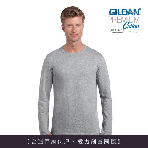 美國第一品牌GILDAN  亞規美國棉素色長T-Shirt