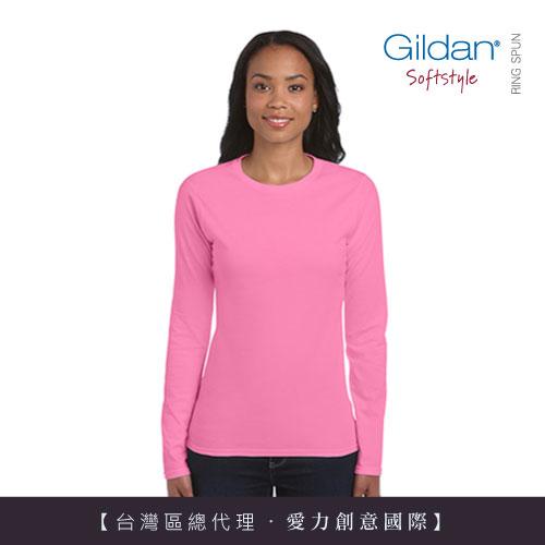 美國第一品牌GILDAN 女用修身女性長袖T-Shirt