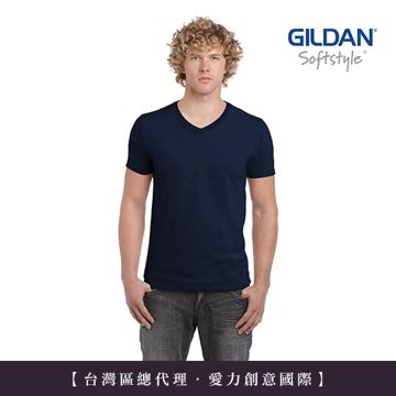 GILDAN 總代理-100%美國棉~ 美規素面V領T恤(1件)
